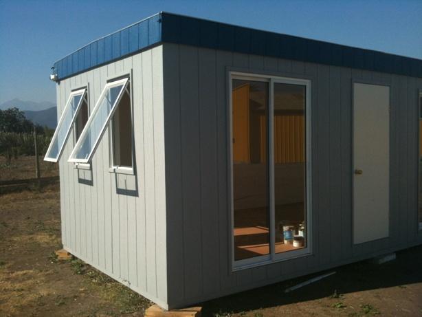 Innovaci n en estructuras modulares for Construccion de oficinas modulares